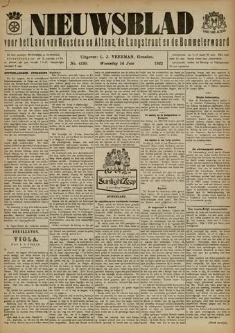 Nieuwsblad het land van Heusden en Altena de Langstraat en de Bommelerwaard 1922-06-14