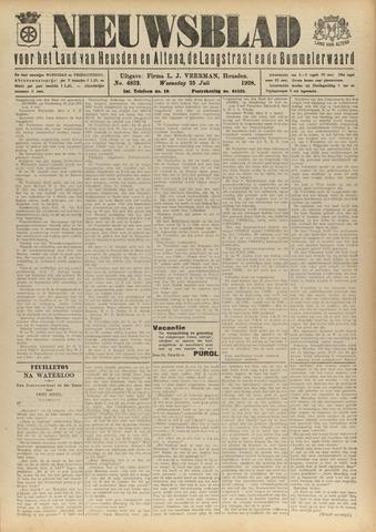 Nieuwsblad het land van Heusden en Altena de Langstraat en de Bommelerwaard 1928-07-25