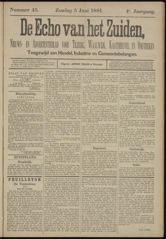 Echo van het Zuiden 1881-06-05