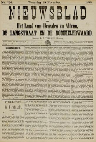 Nieuwsblad het land van Heusden en Altena de Langstraat en de Bommelerwaard 1883-11-28