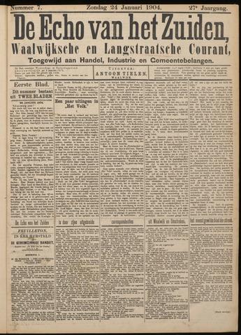 Echo van het Zuiden 1904-01-24