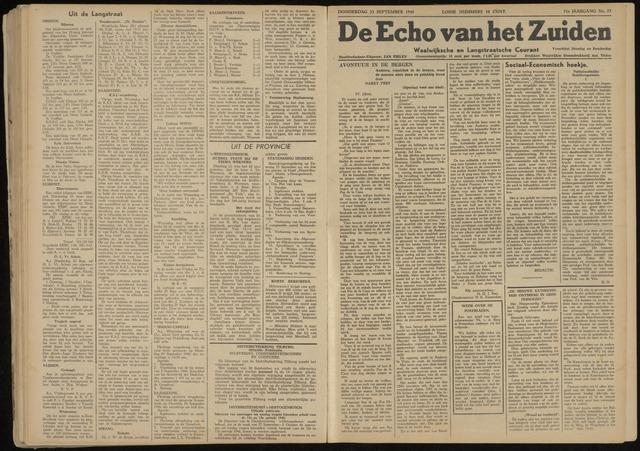 Echo van het Zuiden 1948-09-23