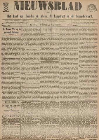 Nieuwsblad het land van Heusden en Altena de Langstraat en de Bommelerwaard 1897-01-20