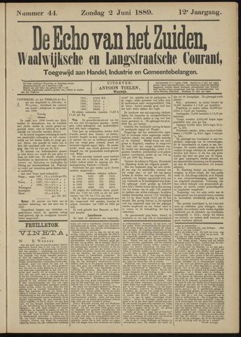 Echo van het Zuiden 1889-06-02