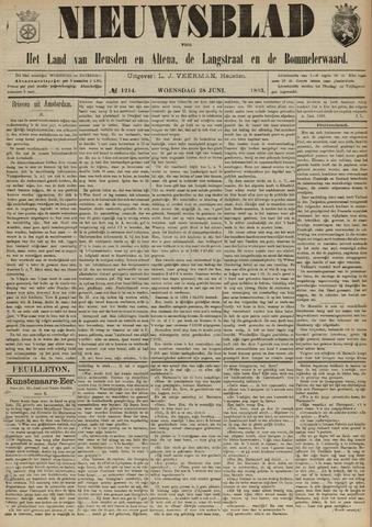 Nieuwsblad het land van Heusden en Altena de Langstraat en de Bommelerwaard 1893-06-28