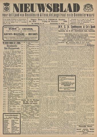 Nieuwsblad het land van Heusden en Altena de Langstraat en de Bommelerwaard 1929-11-29