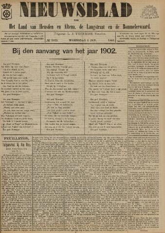 Nieuwsblad het land van Heusden en Altena de Langstraat en de Bommelerwaard 1902-01-01