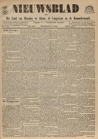 Nieuwsblad het land van Heusden en Altena de Langstraat en de Bommelerwaard 1903-05-13
