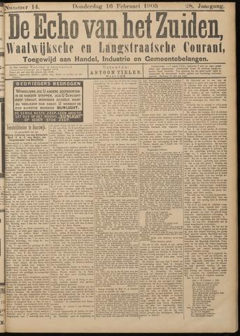 Echo van het Zuiden 1905-02-16