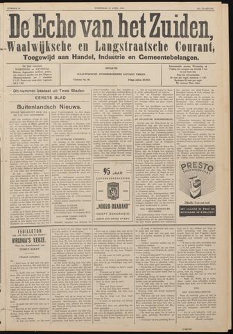 Echo van het Zuiden 1938-04-13