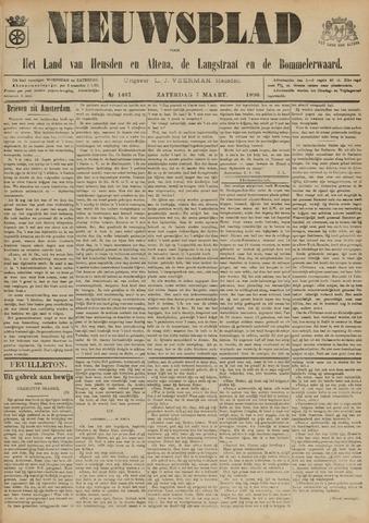 Nieuwsblad het land van Heusden en Altena de Langstraat en de Bommelerwaard 1896-03-07