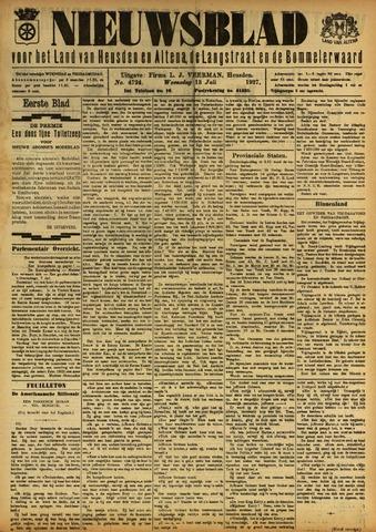 Nieuwsblad het land van Heusden en Altena de Langstraat en de Bommelerwaard 1927-07-13