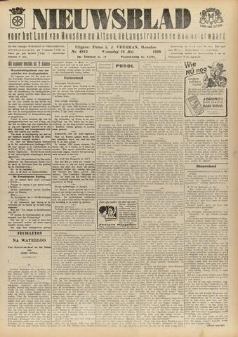 Nieuwsblad het land van Heusden en Altena de Langstraat en de Bommelerwaard 1928-05-16