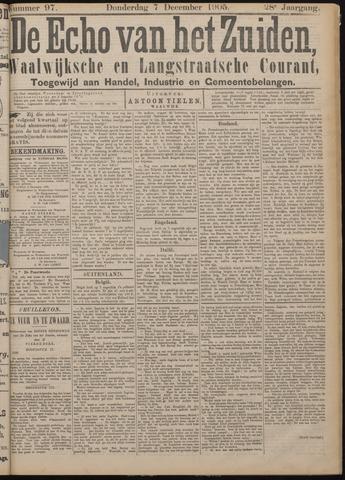 Echo van het Zuiden 1905-12-07