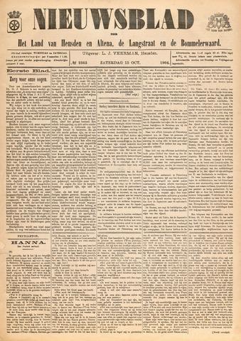Nieuwsblad het land van Heusden en Altena de Langstraat en de Bommelerwaard 1904-10-15