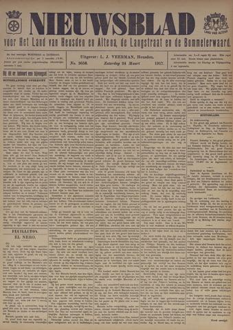 Nieuwsblad het land van Heusden en Altena de Langstraat en de Bommelerwaard 1917-03-24