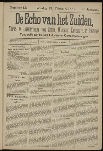 Echo van het Zuiden 1881-02-13