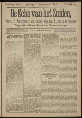 Echo van het Zuiden 1882-12-17
