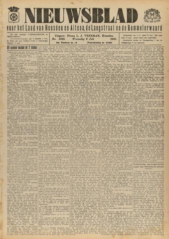 Nieuwsblad het land van Heusden en Altena de Langstraat en de Bommelerwaard 1930-07-02