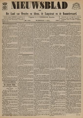Nieuwsblad het land van Heusden en Altena de Langstraat en de Bommelerwaard 1900-08-01