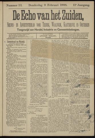 Echo van het Zuiden 1888-02-09