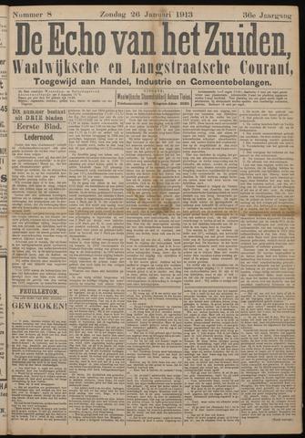 Echo van het Zuiden 1913-01-26