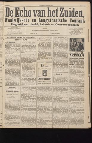 Echo van het Zuiden 1938-10-01