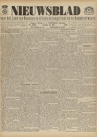 Nieuwsblad het land van Heusden en Altena de Langstraat en de Bommelerwaard 1923-05-11