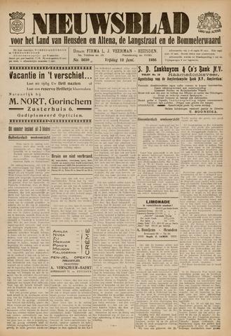 Nieuwsblad het land van Heusden en Altena de Langstraat en de Bommelerwaard 1936-06-12