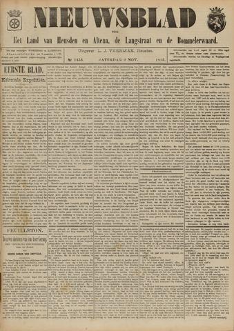 Nieuwsblad het land van Heusden en Altena de Langstraat en de Bommelerwaard 1895-11-09