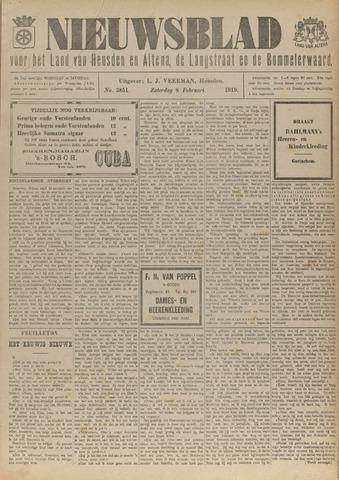 Nieuwsblad het land van Heusden en Altena de Langstraat en de Bommelerwaard 1919-02-08