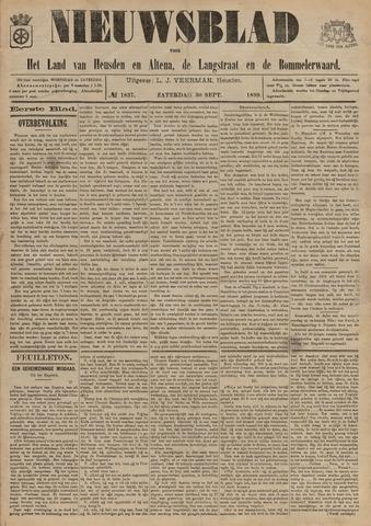Nieuwsblad het land van Heusden en Altena de Langstraat en de Bommelerwaard 1899-09-30