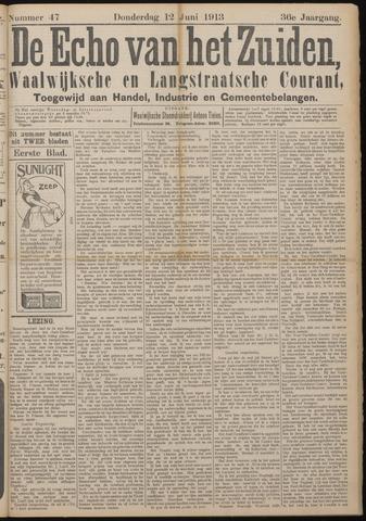 Echo van het Zuiden 1913-06-12