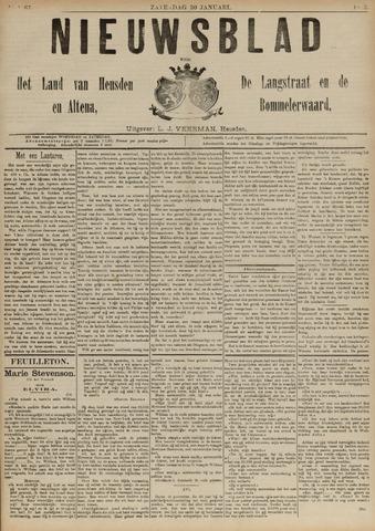 Nieuwsblad het land van Heusden en Altena de Langstraat en de Bommelerwaard 1892-01-30
