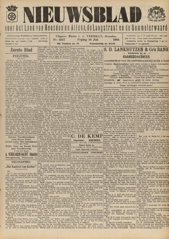 Nieuwsblad het land van Heusden en Altena de Langstraat en de Bommelerwaard 1925-07-10