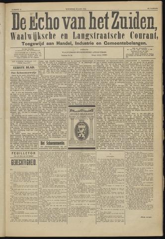 Echo van het Zuiden 1924-06-25
