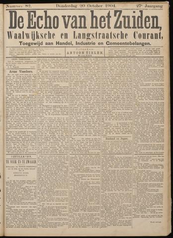 Echo van het Zuiden 1904-10-20