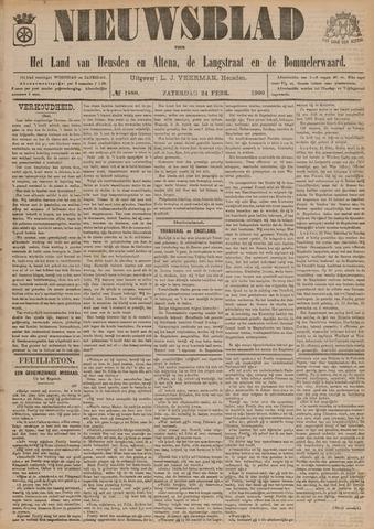 Nieuwsblad het land van Heusden en Altena de Langstraat en de Bommelerwaard 1900-02-24
