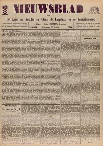 Nieuwsblad het land van Heusden en Altena de Langstraat en de Bommelerwaard 1911-10-18