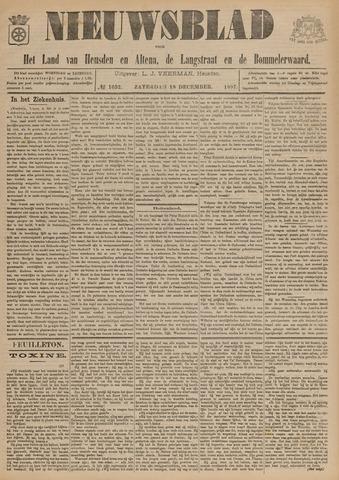 Nieuwsblad het land van Heusden en Altena de Langstraat en de Bommelerwaard 1897-12-18