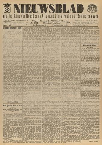 Nieuwsblad het land van Heusden en Altena de Langstraat en de Bommelerwaard 1930-09-03