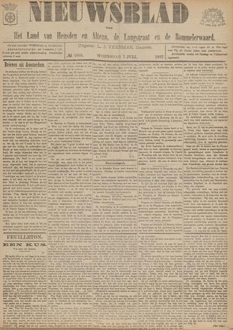 Nieuwsblad het land van Heusden en Altena de Langstraat en de Bommelerwaard 1897-07-07