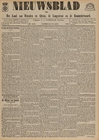 Nieuwsblad het land van Heusden en Altena de Langstraat en de Bommelerwaard 1900-08-25