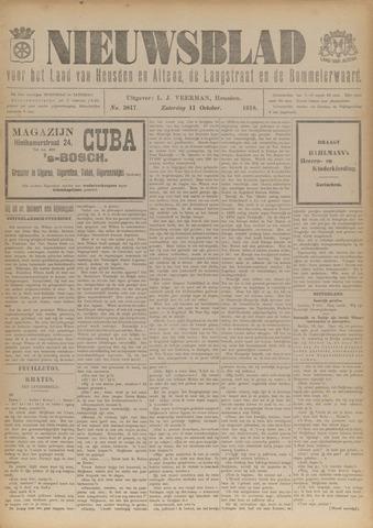 Nieuwsblad het land van Heusden en Altena de Langstraat en de Bommelerwaard 1918-10-11
