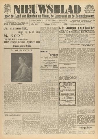 Nieuwsblad het land van Heusden en Altena de Langstraat en de Bommelerwaard 1934-08-31