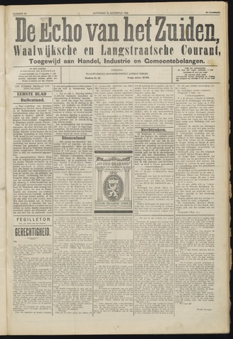 Echo van het Zuiden 1924-08-30
