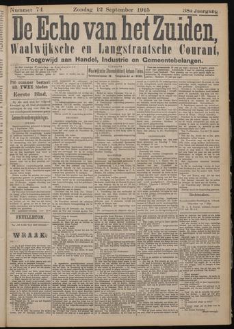 Echo van het Zuiden 1915-09-12
