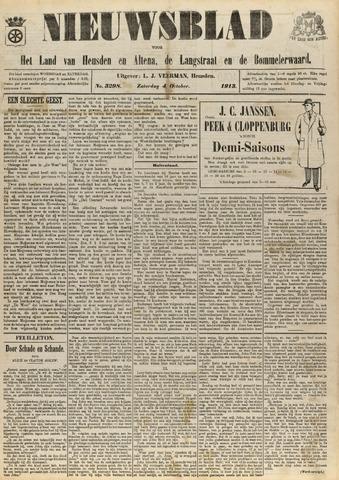 Nieuwsblad het land van Heusden en Altena de Langstraat en de Bommelerwaard 1913-10-04