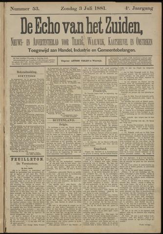 Echo van het Zuiden 1881-07-03