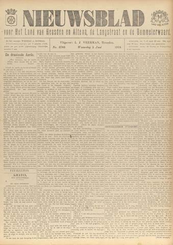 Nieuwsblad het land van Heusden en Altena de Langstraat en de Bommelerwaard 1918-06-05